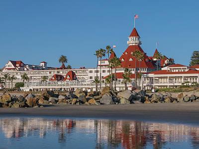 Island Stays Photograph - The Hotel Del Coronado by Robert Bellomy