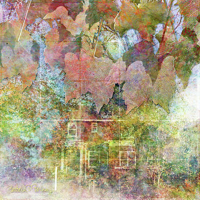 Digital Art - The House Across The Street by Barbara Berney