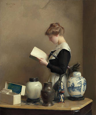 Painting - The House Maid by William McGregor Paxton