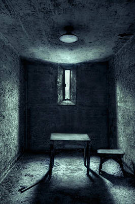 Prison Cell Wall Art - Photograph - The House Of A Locked Mind by Evelina Kremsdorf