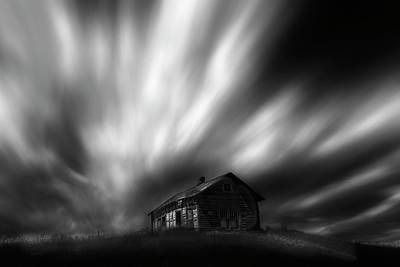 Old Western Photograph - The House Of My Dreams by Dan Jurak