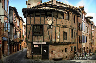 The House Of The Old Albi Art Print