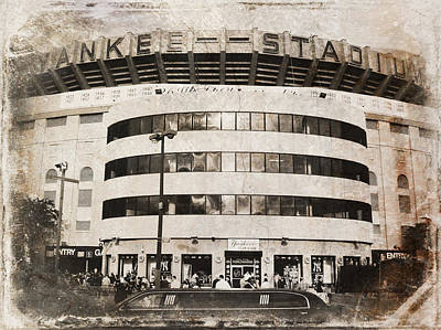 Yankee Stadium Digital Art - The House That Ruth Built IIi by Aurelio Zucco