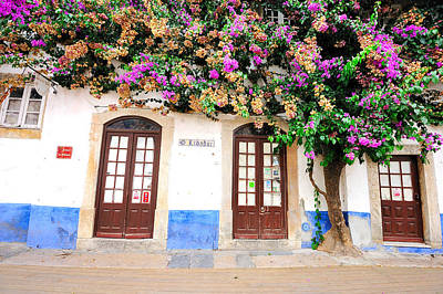 Photograph - The House With The Bougainvillea by Marwan Khoury