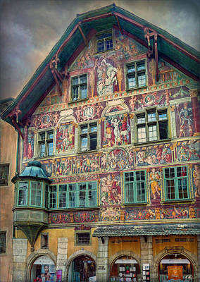 Photograph - The House Zum Ritter by Hanny Heim