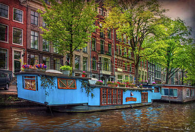 Photograph - The Houseboats by Hanny Heim