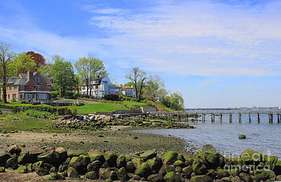 Photograph - The Houses By The Bay by Dora Sofia Caputo Photographic Art and Design