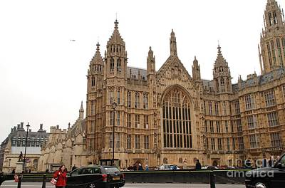 Photograph - The Houses Of Parliament by David Fowler