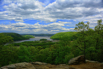Photograph - The Hudson From Bear Mountain by Raymond Salani III