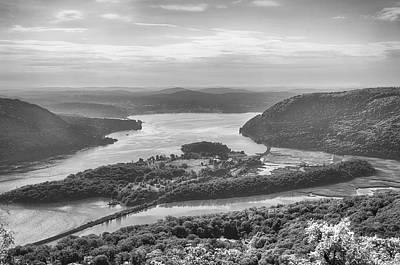 Hudson River Photograph - The Hudson River At Bear Mountain by Eleanor Bortnick