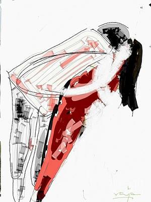 Digital Art - The Hug by Subrata Bose