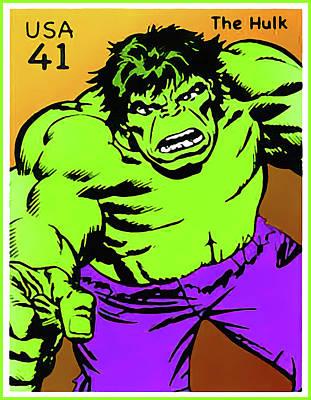 The Hulk Art Print