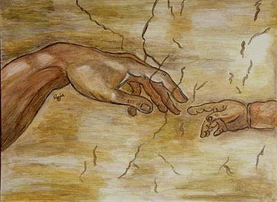 Painting - The Human Touch by Stephanie Agliano