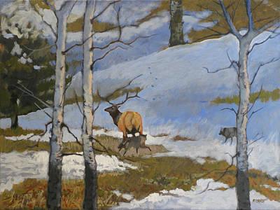 The Hunt Art Print by Robert Bissett