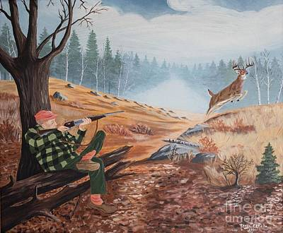 Painting - The Hunt by Stella Sherman