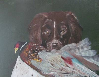 Painting - The Hunt by Susan Snow Voidets