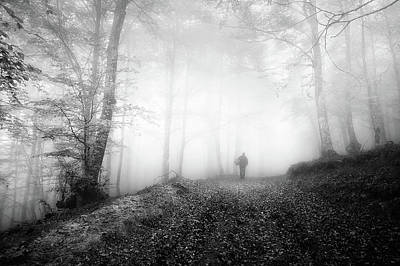 Hunters And Gatherers Photograph - The Hunter by Mikel Martinez de Osaba