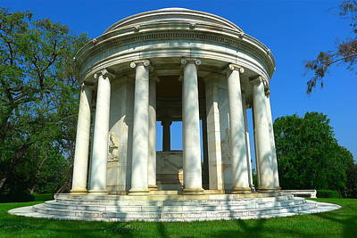 Photograph - The Huntington Mausoleum by Denise Mazzocco
