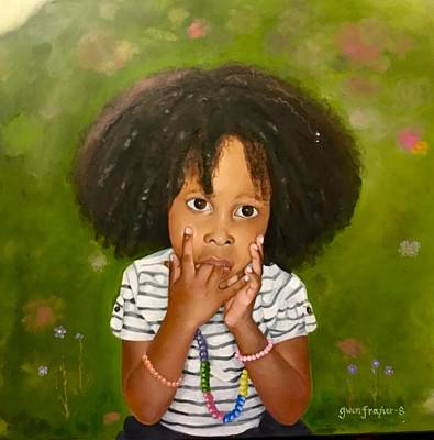 Painting - The Hush by Gwendolyn Frazier