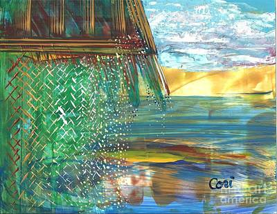 Painting - The Hut by Corinne Carroll