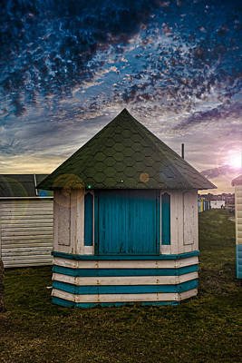 The Hut Art Print by Martin Newman