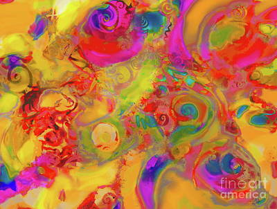 Digital Art - The Hybrid by Expressionistart studio Priscilla Batzell
