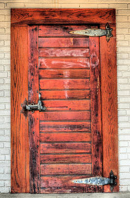 Photograph - The Ice House Door by JC Findley