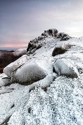 Photograph - The Ice Queen Returns, North Tor Slieve Bearnagh by Glen Sumner