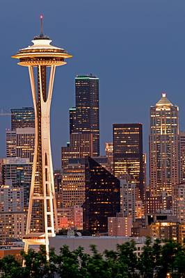 Photograph - The Icon Of Seattle by Willie Harper