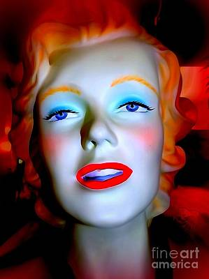 Digital Art - The Iconic Miss Monroe by Ed Weidman