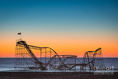 The Iconic Star Jet Roller Coaster Original by Michael Ver Sprill