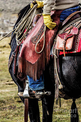 Photograph - The Idaho Cowboy Western Art By Kaylyn Franks by Kaylyn Franks
