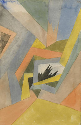 Painting - The Idea Of Firs by Paul Klee