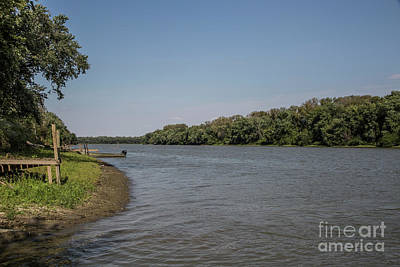 Photograph - The Illinois River by Kathy McClure