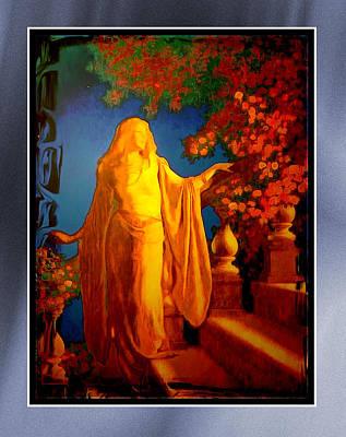 Lotr Painting - The Illuminated Lady by Mario Carini