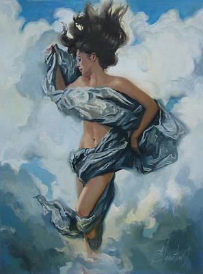 The Illusion Art Print by Sergey Ignatenko