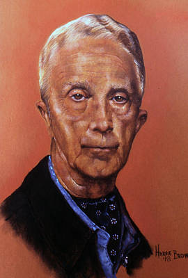 Norman Rockwell Pastel - The Illustrator by Harvie Brown