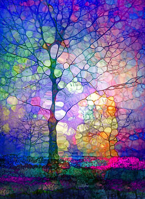 Hope Digital Art - The Imagination Of Trees by Tara Turner