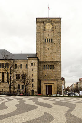 Photograph - The Imperial Castles East Side Of Tower Poznan Poland by Jacek Wojnarowski