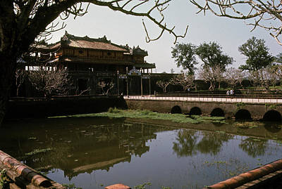 Photograph - The Imperial City In Hue by Robert Holden