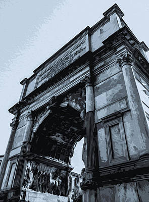 Painting - The Imperial Fora, Rome - 03 by Andrea Mazzocchetti