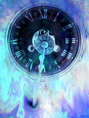 Inspiration Photograph - The Impossibility Of Time by Abstract Angel Artist Stephen K