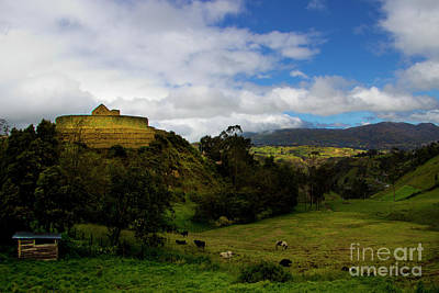 Photograph - The Inca-canari Ruins At Ingapirca V by Al Bourassa