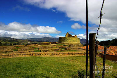 Photograph - The Inca-canari Ruins At Ingapirca Viii by Al Bourassa