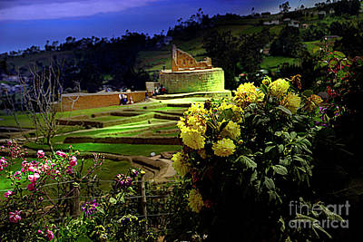 Photograph - The Inca-canari Ruins At Ingapirca X by Al Bourassa