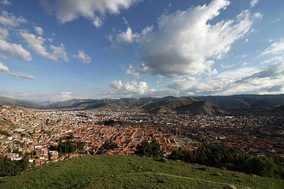 Photograph - The Inca Capital Of Cusco by Aidan Moran