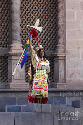 Winter Solstice Photograph - The Inca Celebrates Inti Raymi by James Brunker