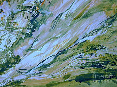 Digital Art - The Incline by Nancy Kane Chapman
