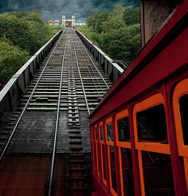 Duchesne Photograph - The Duchesne Incline - Pittsburgh, Pennsylvania by Mitch Spence