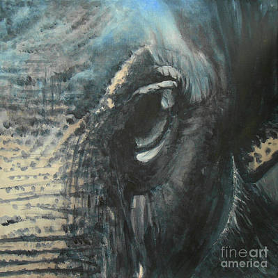 Painting - The Incredible - Elephant 4 by Jane See